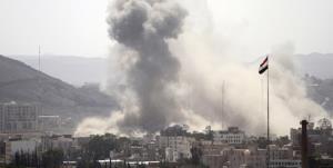 جنگندههای سعودی فرودگاه صنعا را بمباران کردند