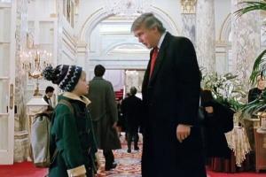 کوین خواستار حذف ترامپ از «تنها در خانه» شد