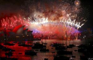 جشن مردم بلغارستان برای آغاز سال نوی میلادی