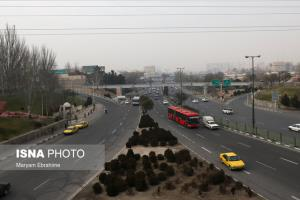 هوای تبریز در وضعیت قابل قبول قرار گرفت