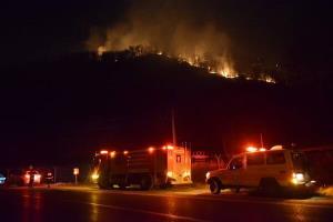 آتش دوباره به جانِ جنگلهای نوار مرزی ایران افتاد