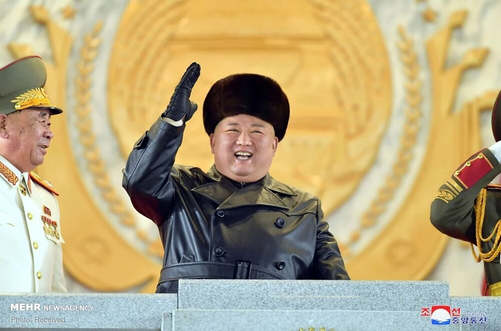 ظاهر جدید رهبر کره شمالی