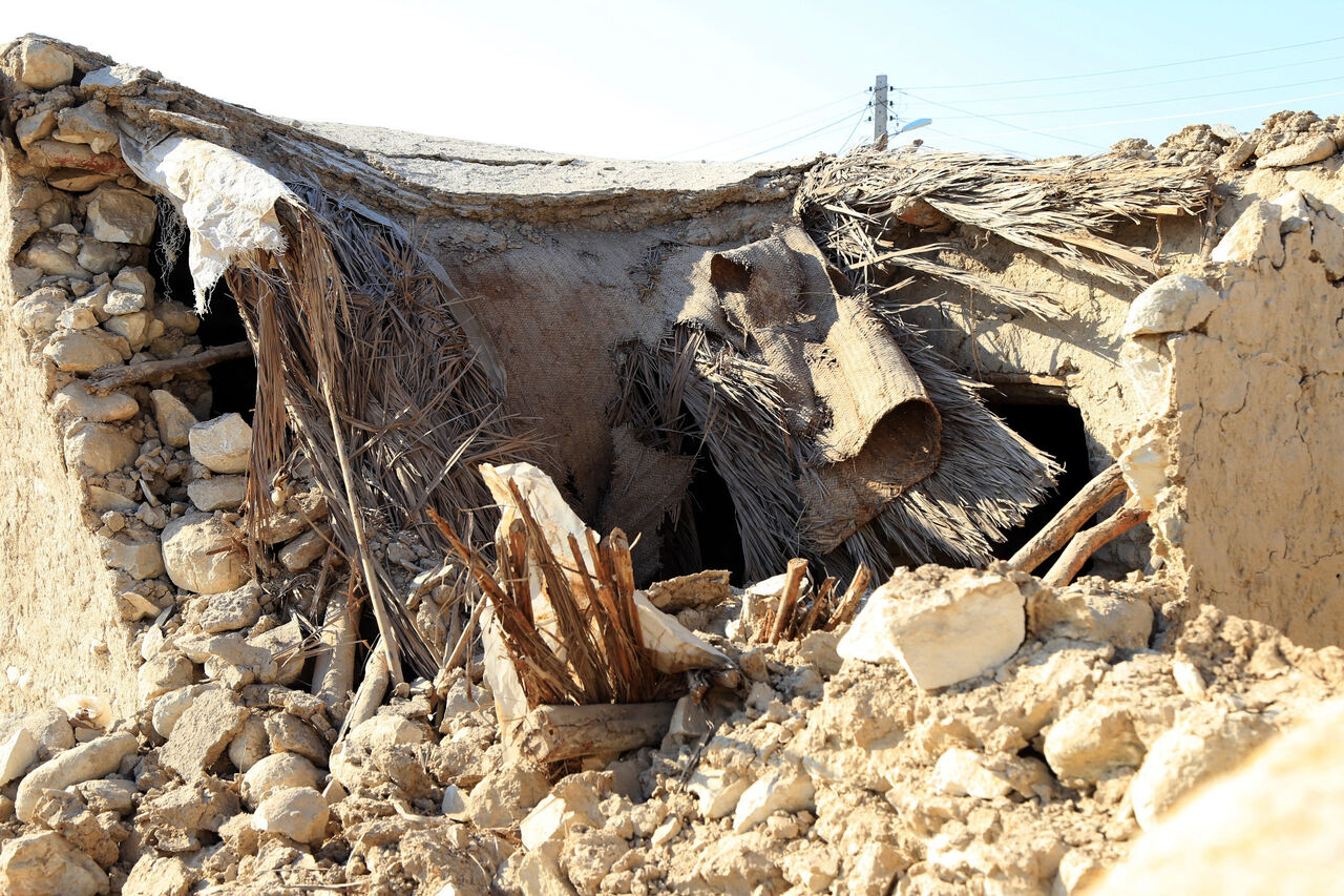 عکس/ خسارات زلزله در بندر لنگه