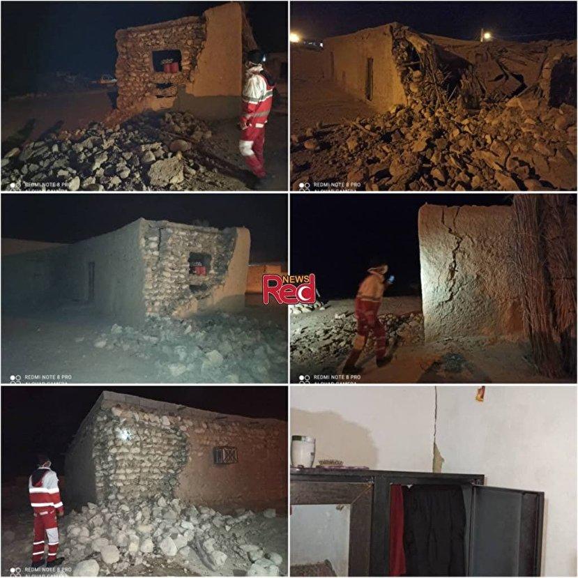 عکس/ خسارت زلزله ۵.۵ ریشتری در هرمزگان