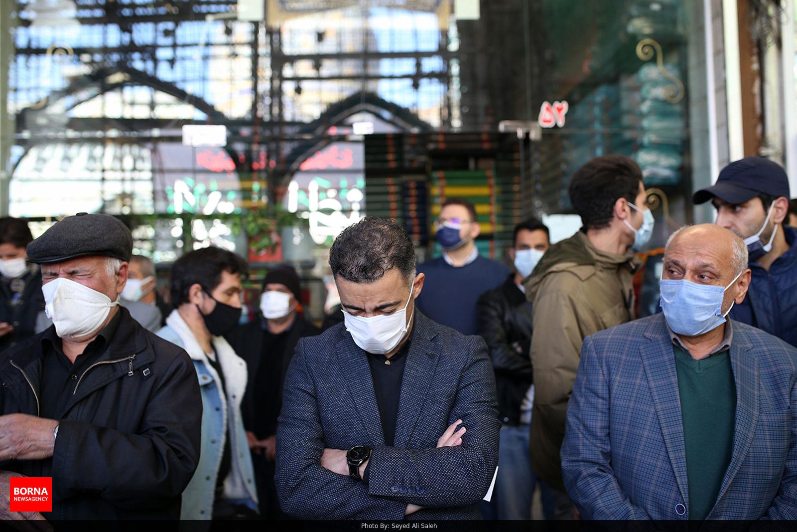 عزاداری بازاریان تهران در آستانه شهادت حضرت زهرا(س)