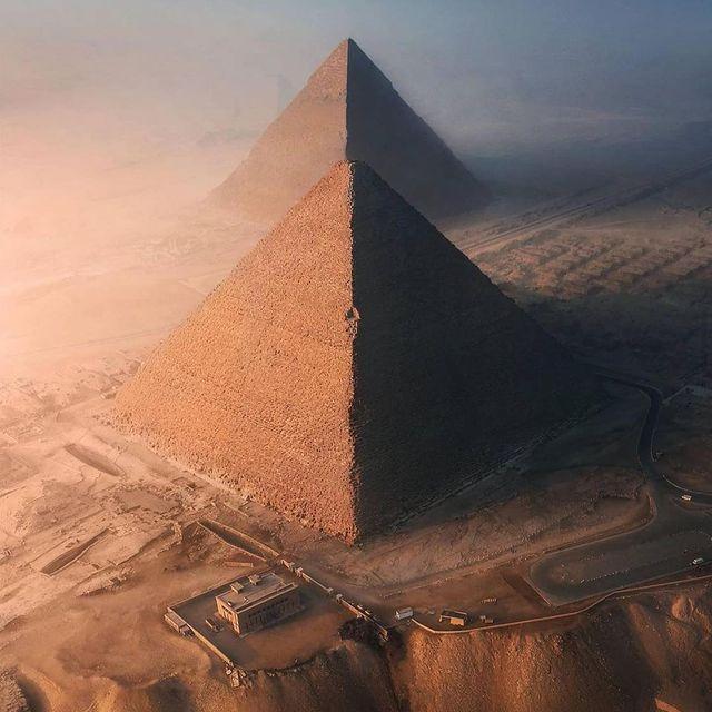 اهرام شگفت انگیز مصر