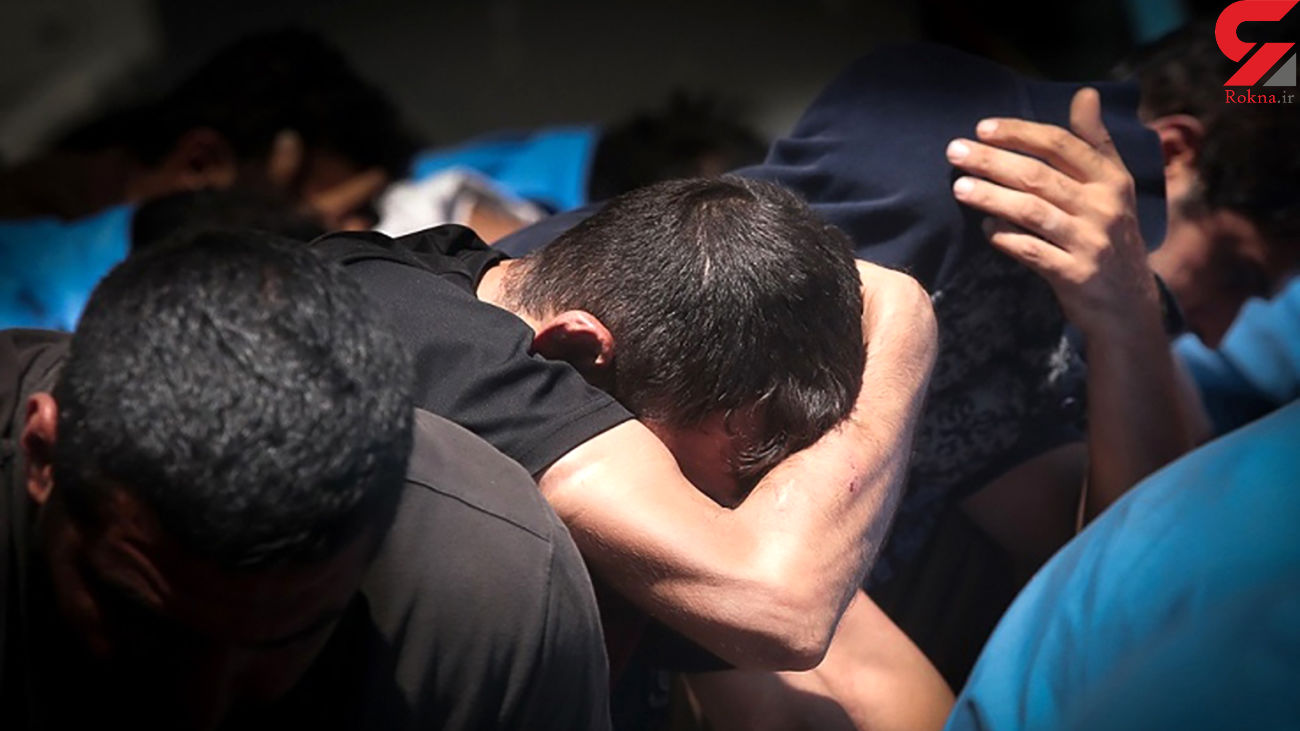بازداشت مردان خشن قم در تهران