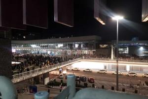 تخلیه فرودگاه فرانکفورت پس از مشاهده فردی مسلح
