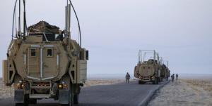 یک کاروان نظامی آمریکا وارد سوریه شد