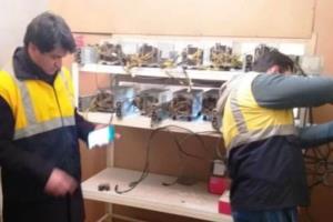 ۱۷۵ دستگاه استخراج رمز ارز غیرمجاز در تبریز کشف و توقیف شد