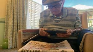 کشف راز طول عمر جالب پیرمرد ۱۱۱ ساله استرالیایی