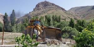 آزادسازی ۱۲۰ هکتار از اراضی زراعی ساوجبلاغ
