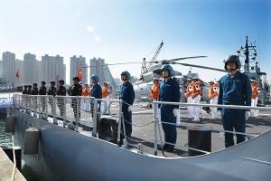 ناوگان ۳۷ام نیروی دریایی چین به سمت خلیج عدن حرکت کرد