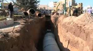 آبهای سطحی در شمال شرق کرمانشاه مهار میشود
