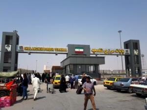 مرز شلمچه برای تردد مسافران بسته است
