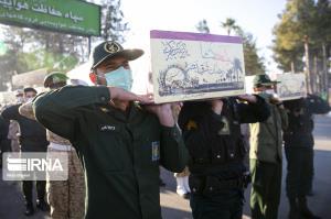 ۵شهید گمنام در فارس تشییع و خاکسپاری شدند