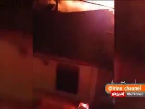 آتشسوزی در مناطق مختلف گیلان