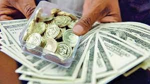 زیر پای دلار و سکه خالی شد