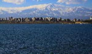 نمایی چشمنواز از دریاچه شورابیل
