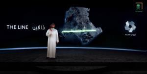 محمد بن سلمان در رویای ساخت شهر هوشمند «لاین»