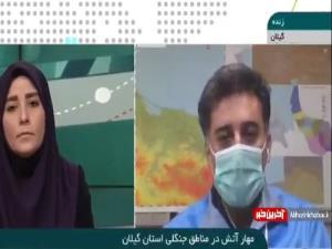 جزئیات مهار آتش در مناطق جنگلی استان گیلان