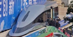 ابداع قطار برقی که سرعتش به ۶۲۰ کیلومتر بر ساعت میرسد