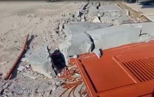 تصاویری از خسارت زلزله به روستای سایه خوش بندرلنگه