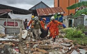 وقوع پس لرزه شدید در مناطق زلزله زده اندونزی