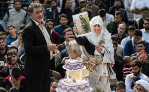 کیک دامادی برای شهید مدافع حرم