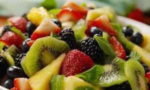کاهش وزن با مصرف میوه ها
