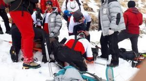 نجات ۴ کوهنورد در ارتفاعات دماوند