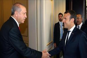 اردوغان و ماکرون در نامه هایی خواستار گسترش مناسبات شدند