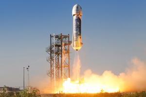 پرتاب و فرود موفق فضاپیمای جدید بلو اوریجین
