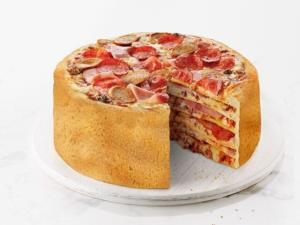 نهار/ طرز تهیه کیک پیتزا خانگی با خمیر جادویی