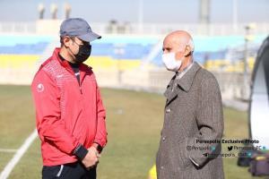 اولین کاپیتان پرسپولیس در کنار سیدجلال حسینی
