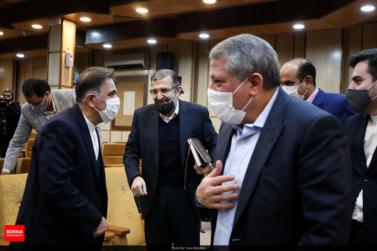 عکس/ از هاشمی تا آخوندی در نشست حزب ندای ایرانیان