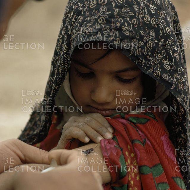 واکسیناسیون در روستاهای ایران سال 53
