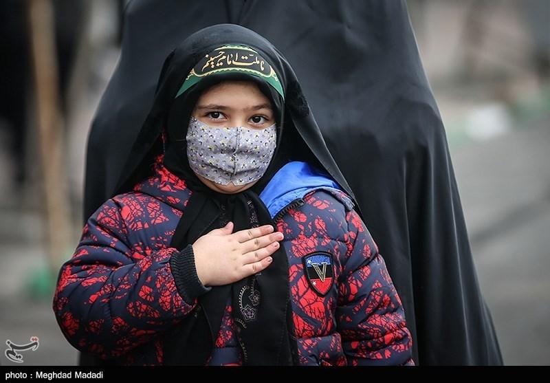 عزاداری شهادت حضرت زهرا(س) در میدان هفتتیر