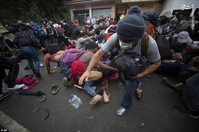 حرکت هزاران مهاجر به سمت مرزهای آمریکا