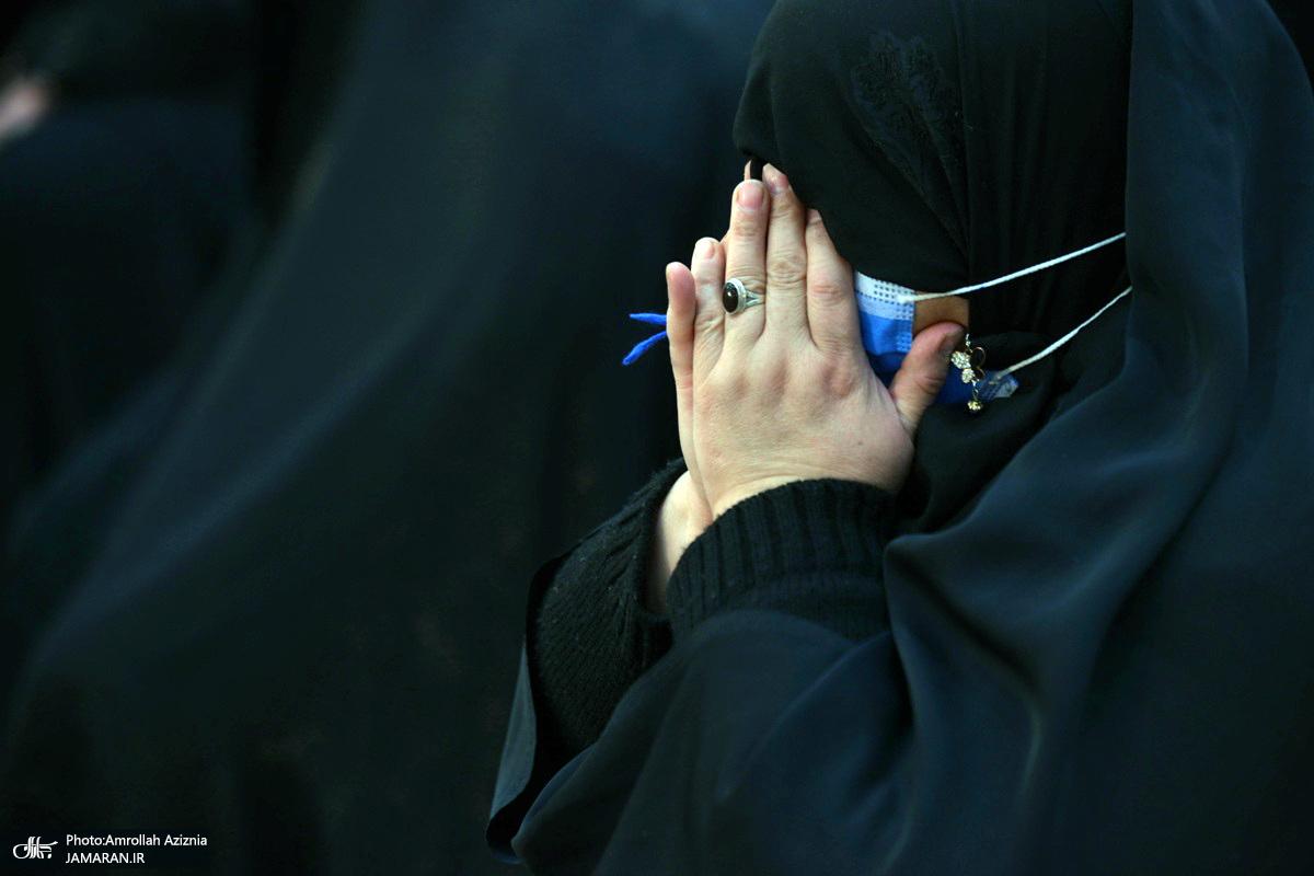 عزاداری شهادت حضرت زهرا(س) در حرم امام خمینی(ره)