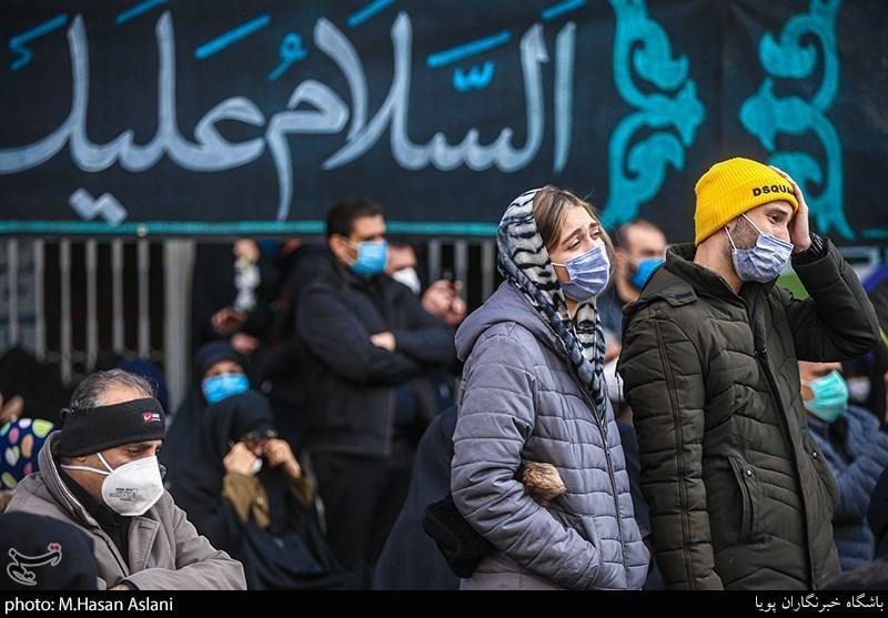 عزاداری تهرانی ها در «میدان فاطمی»