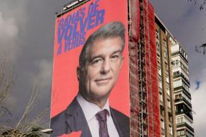 جمعآوری تبلیغات نامزد ریاست بارسلونا