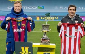 ترکیب تیمهای بارسلونا و اتلتیکبیلبائو اعلام شد