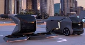 خودرو پرنده و خودرو خودران جنرال موتورز معرفی شدند