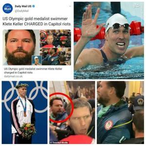 دود اعتراضات مردمی در کنگره ایالات متحده به چشم ورزشکاران آمریکایی رفت
