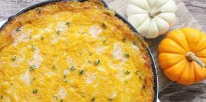 فوت تهیه  املت کدو حلوایی و پنیر کبابی خوشمزه در چند دقیقه