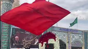 فیلمی از مراسم سوگواری شهادت امابیها در شوش