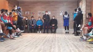 برگزاری مراسم معارفه مجید جلالی در نساجی