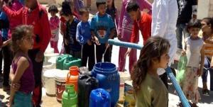 نیروهای ترکیه آب شرب شهر الحسکه را قطع کردند