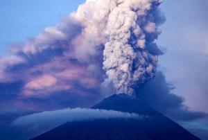 فعال شدن آتشفشان اندونزی در جاوا